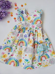 Rainbows and Sunshine Ellie Dress