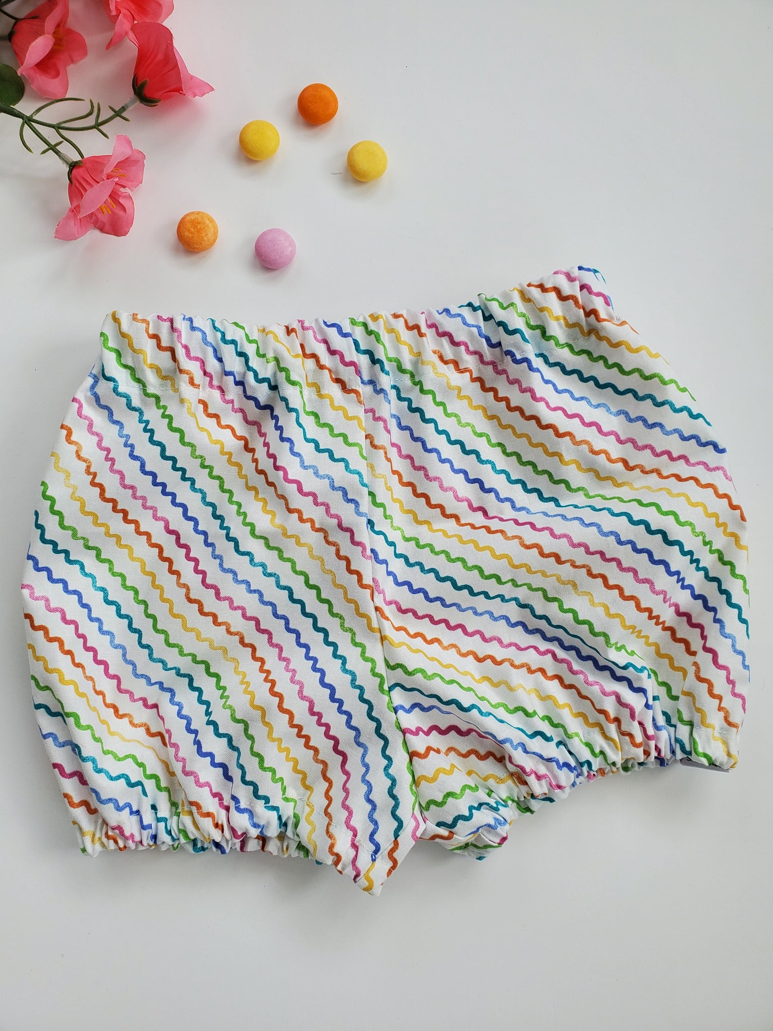 Rainbows and Sunshine Bloomers/Cuff Shorts