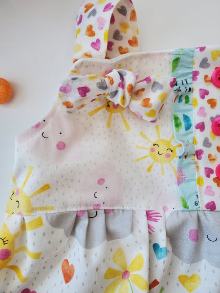 Rainbows and Sunshine Knot Dress