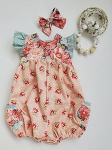 Wonderland Pocket Romper