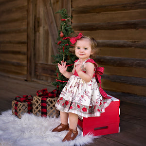 Blu Christmas Cardinals Greta Dress