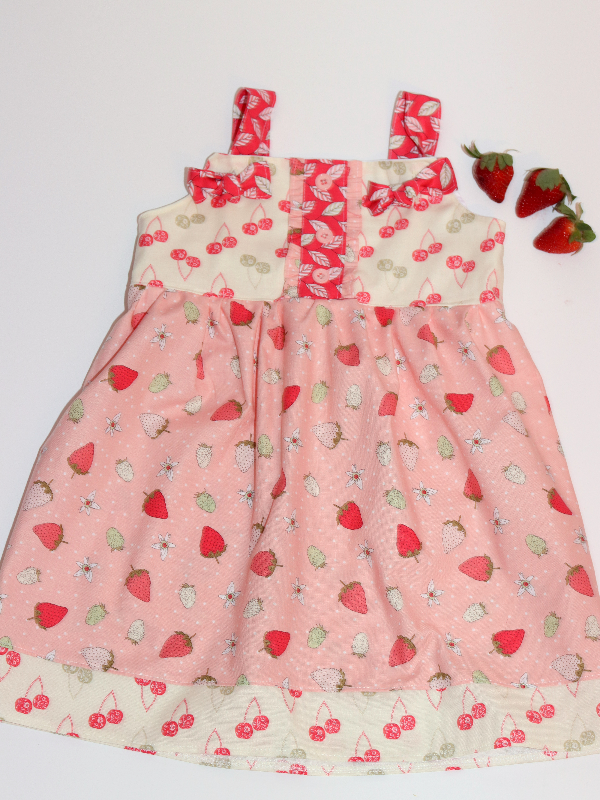 Strawberry Knot Dress