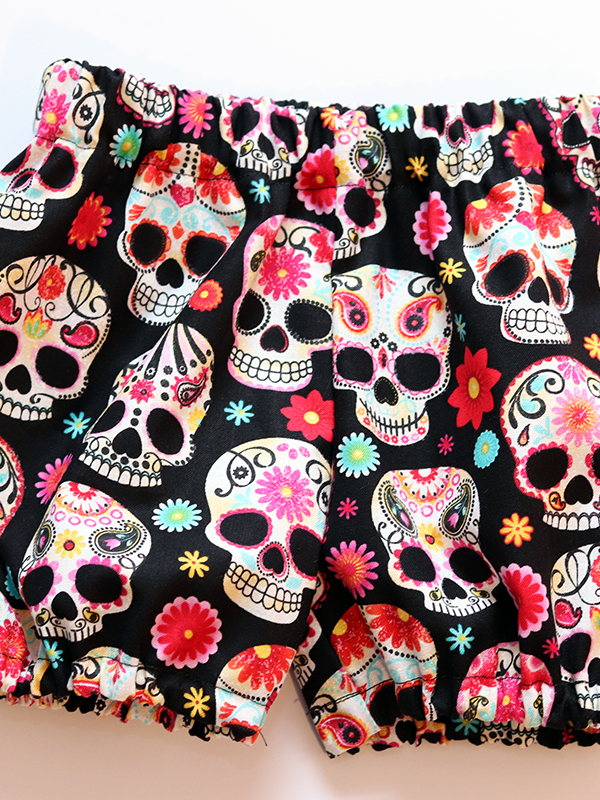 Sugar Skull Bloomers