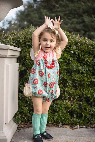 In Full Bloom Pocket Romper