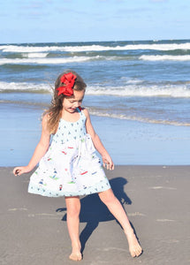 Vintage Summer Seaside Sundress