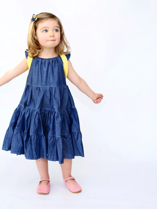 Denim Twirl Dress