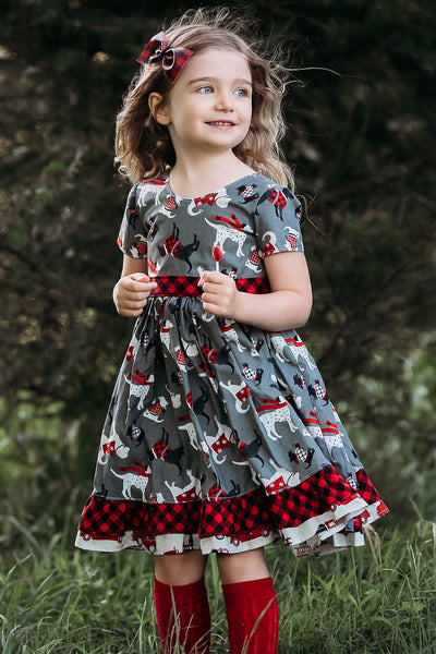 Vintage Christmas Skyler Dress