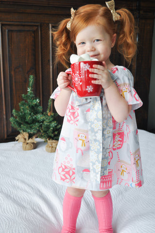Blu Christmas Cocoa Simple Dress