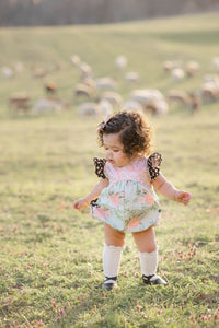 Briar Rose Pocket Romper