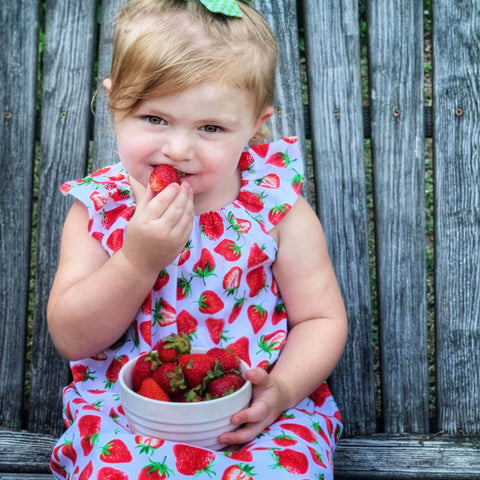 Strawberry Fields Simple Dress