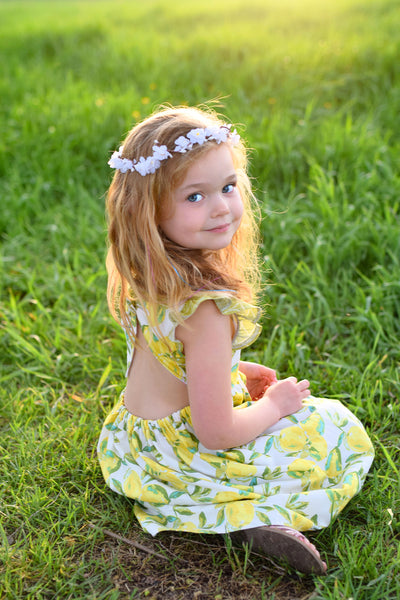 Lemon Zest Lemon Ellie Dress