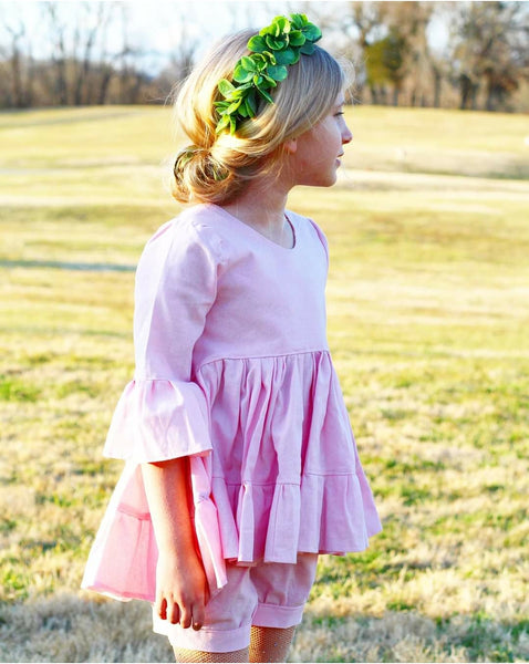 Spring Pastel Linen Bloomers/Shorts