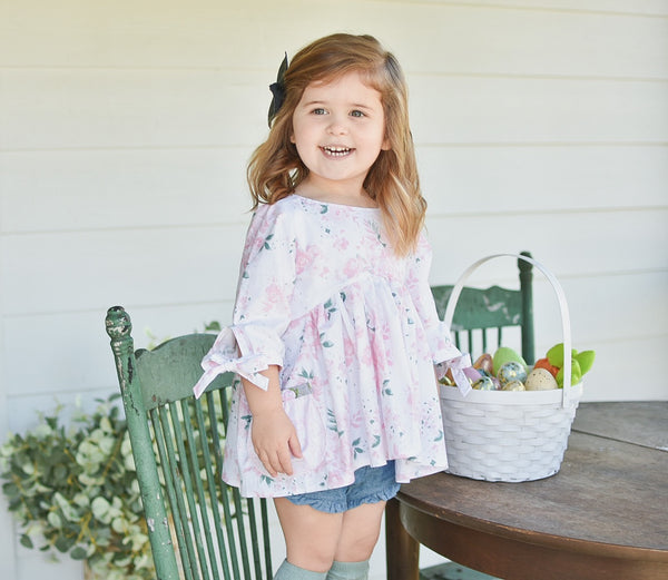 Bunnies and Blooms Lydia Top