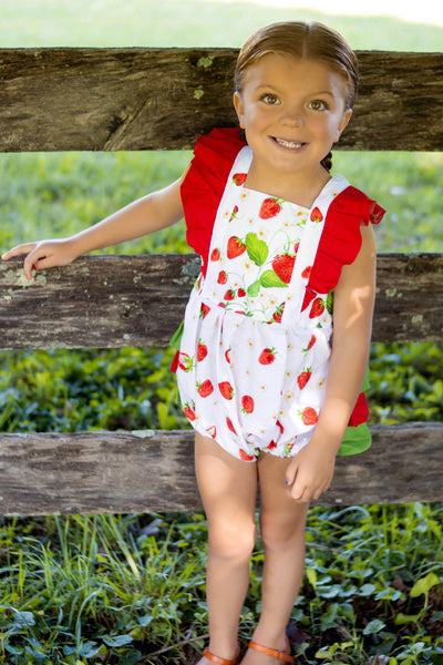 Strawberry Fields Emmy Romper