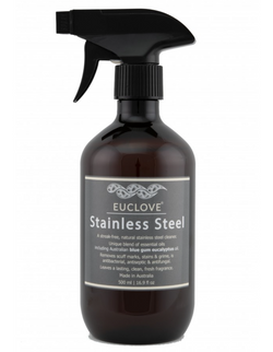 Euclove Stainless Steel Cleaner 500ml - Delisháuse
