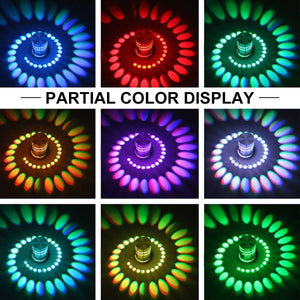 LED Patterned Wall Lamp