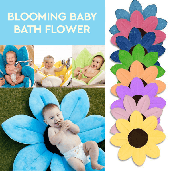 Blooming Baby Bath Flower – Wooxify