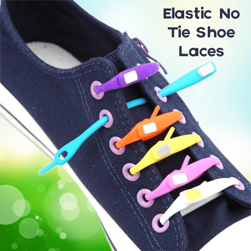Elastic No Tie Shoe Laces (10 Straps)