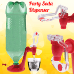 Party Soda Dispenser (Helps Keeps Fizz Longer)