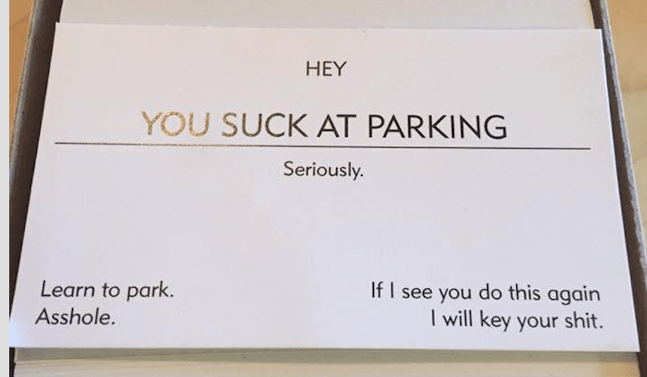 You Suck at Parking\