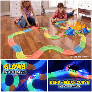 LED Glow Racing Track Set
