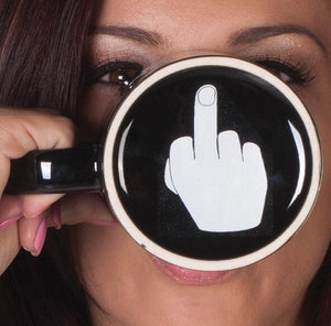 Have A Nice Day Middle Finger Mug