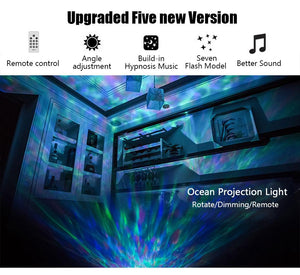 Ocean Wave Projector & Music Player