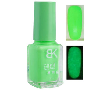 Neon Glowing Nail Polish