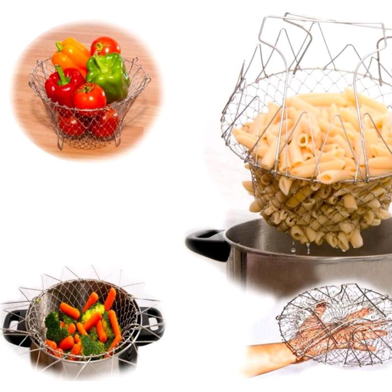 Flexible Kitchen Basket