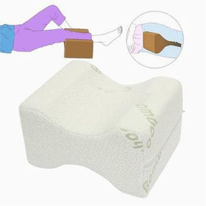 Back Pain Reducing Knee Pillow