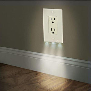 Led nightlight wall outlet wooxify led nightlight wall outlet aloadofball Images