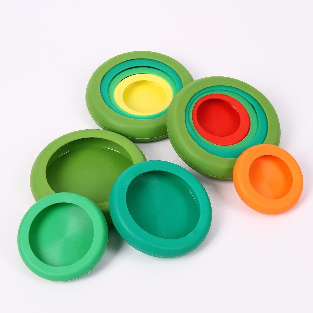 Reusable Silicone Food Savers - Fruit and Vegetable Huggers