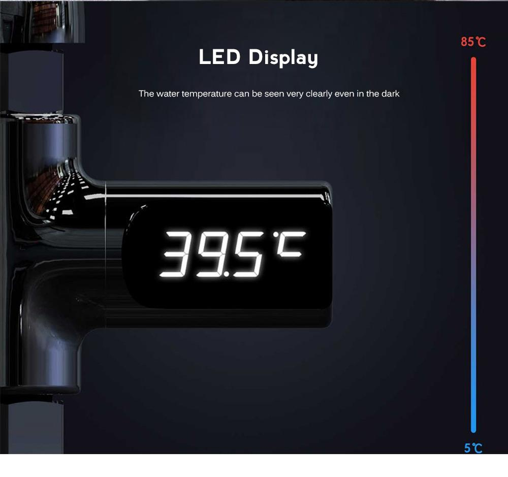 LED Shower Thermometer