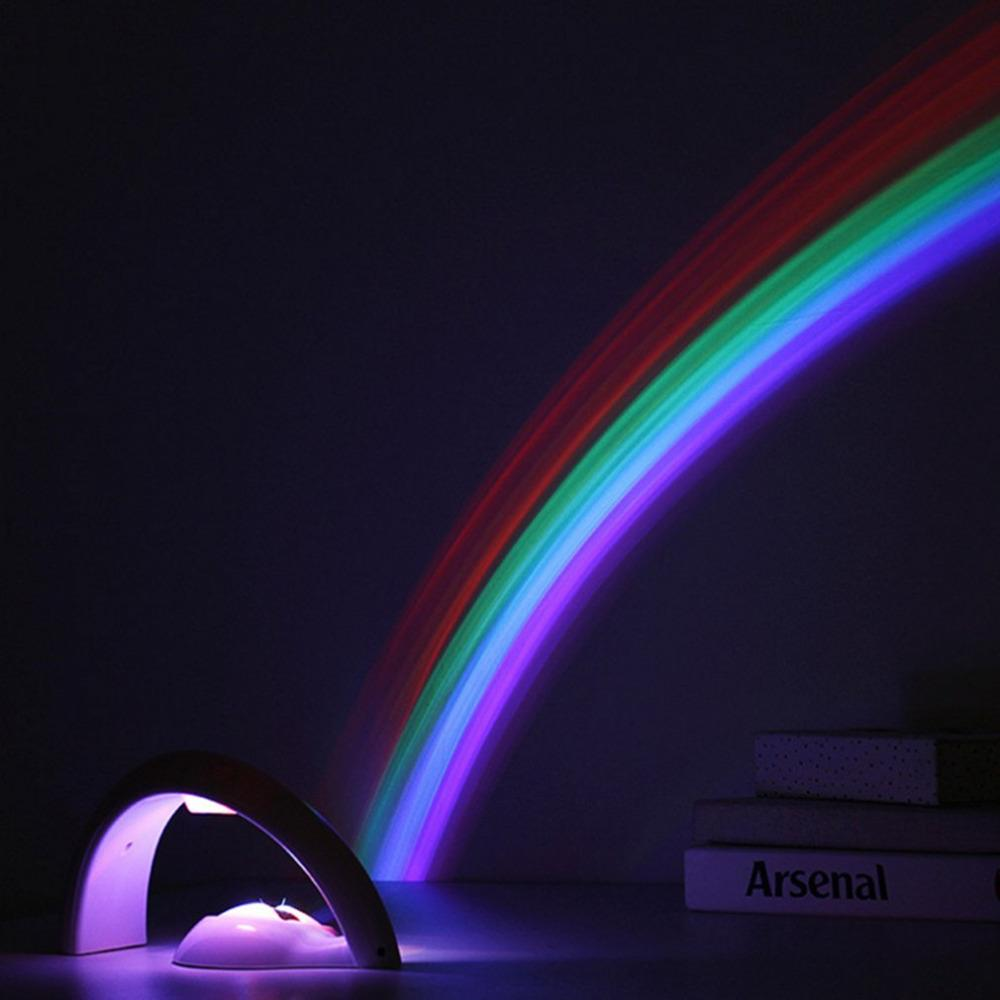 LED Lucky Rainbow Projector