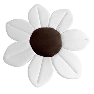 Newborn Baby Bathtub Foldable Flower Shape Mat Soft Seat Infant Baby Flower Bath Sunflower Cushion 80CM