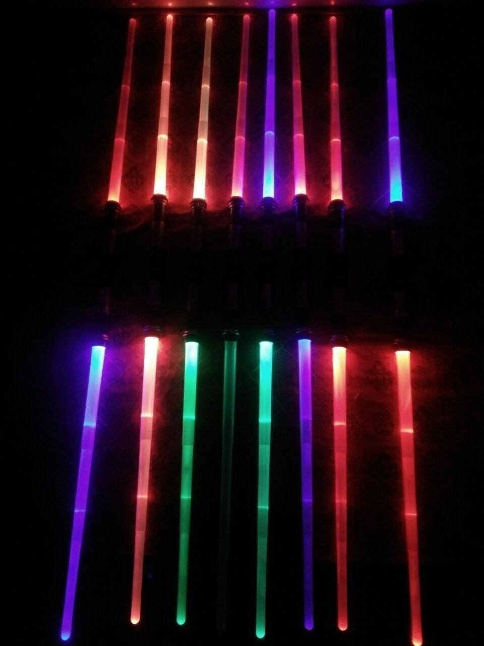 Double Edged SFX Sabers - All Colors & With Sound Effects!