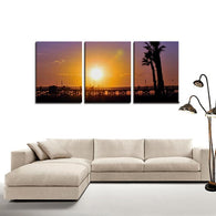 3 Panels Canvas Prints Wall Art for Wall Decorations-Wall art-HRH Studio Boutique