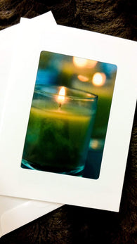 Candles Card-Greeting Cards/Prints-HRH Studio Boutique