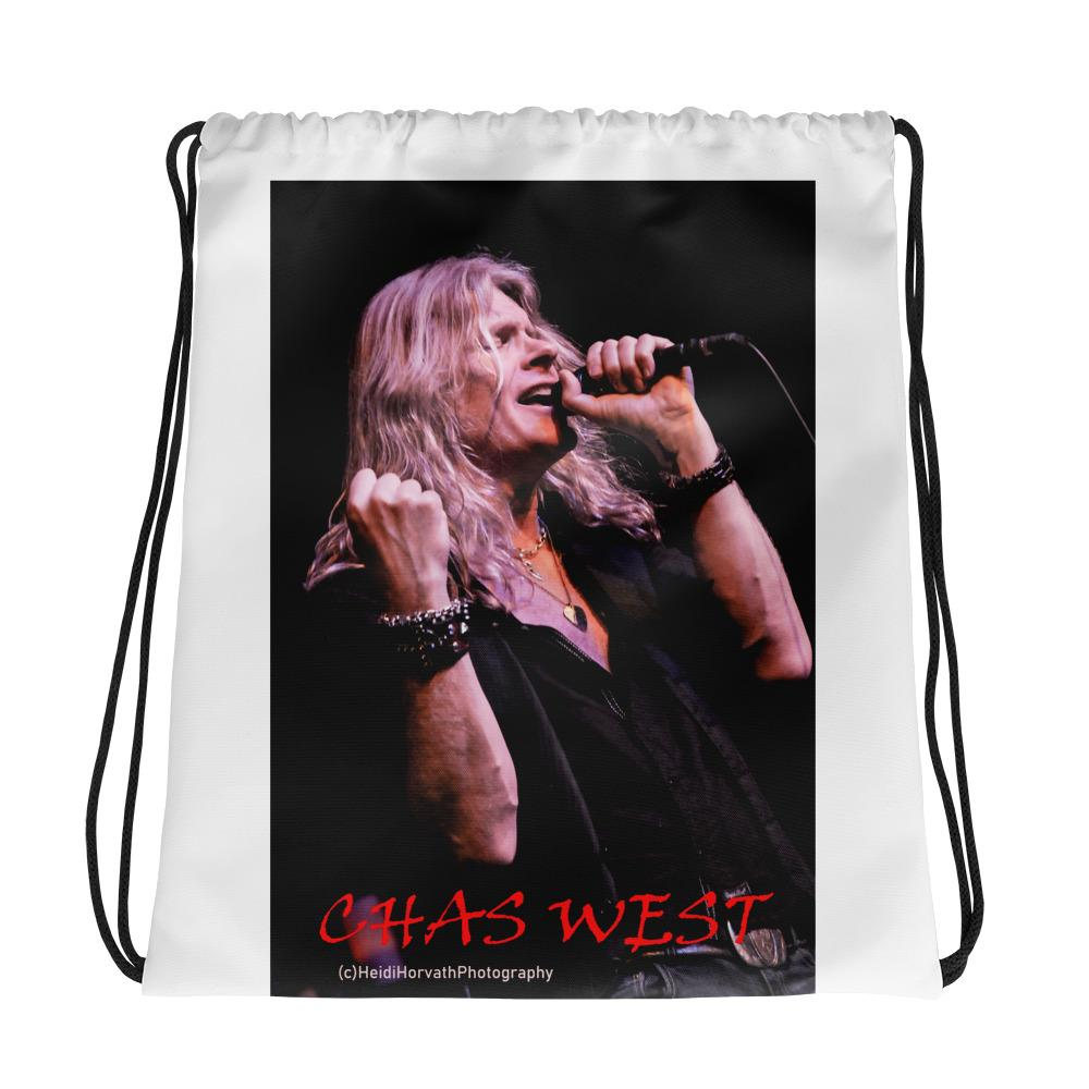 CHAS WEST Cool Drawstring bag Drawstring Bag- HRH Studio Boutique