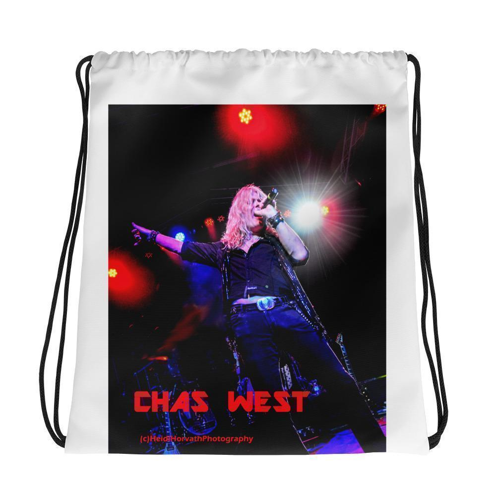 CHAS WEST Drawstring bag Drawstring Bag- HRH Studio Boutique