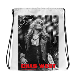 CHAS WEST Drawstring bag-Drawstring Bag-HRH Studio Boutique