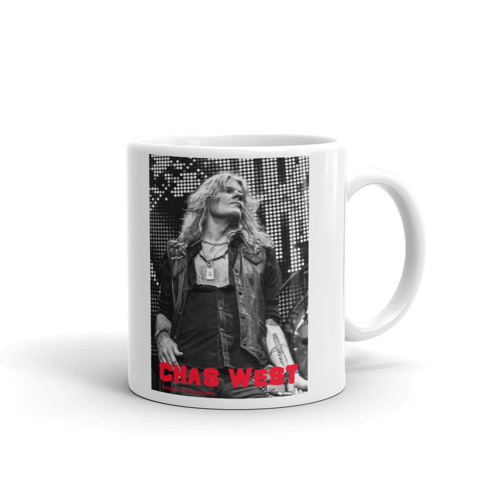 CHAS WEST Mug-Mugs - Coffee Mugs-HRH Studio Boutique