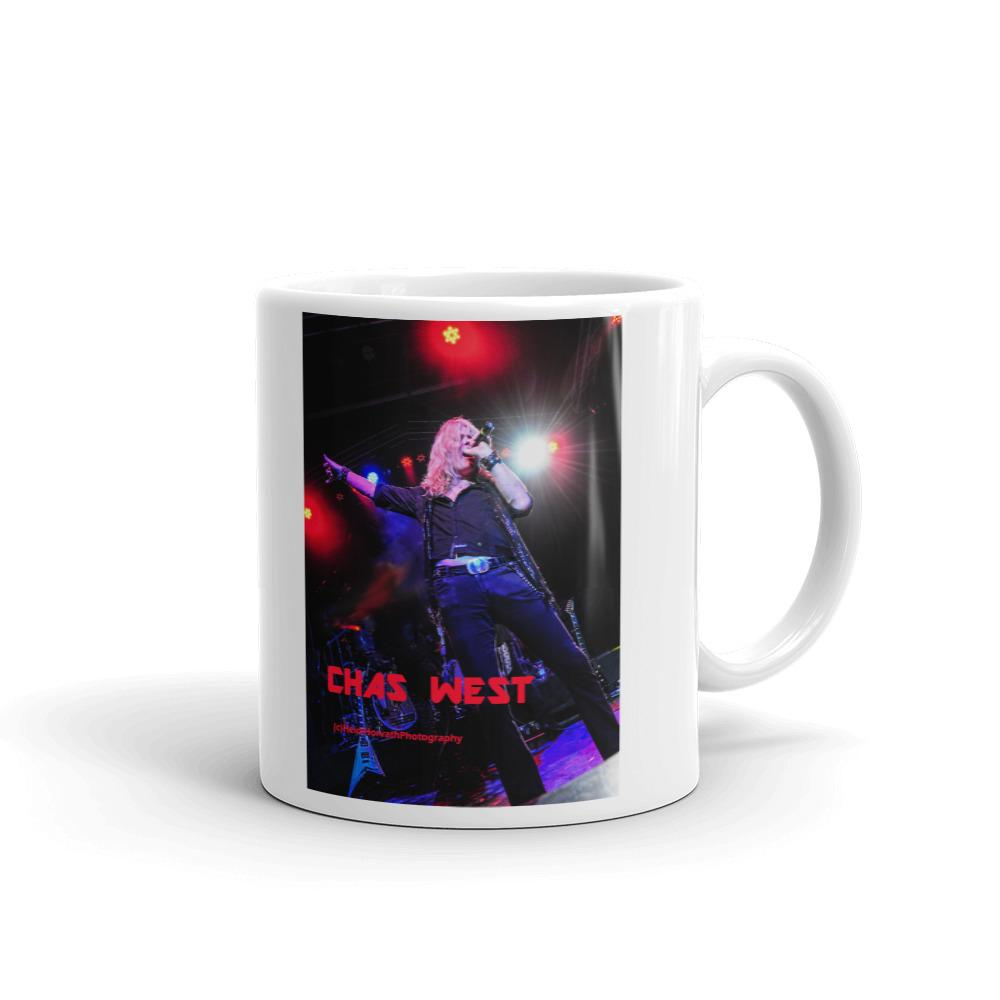 CHAS WEST Rock n Roll Mug-Mugs - Coffee Mugs-HRH Studio Boutique