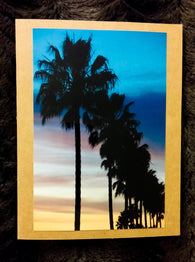 Colorful Palms Vertical Card-Greeting Cards/Prints-HRH Studio Boutique