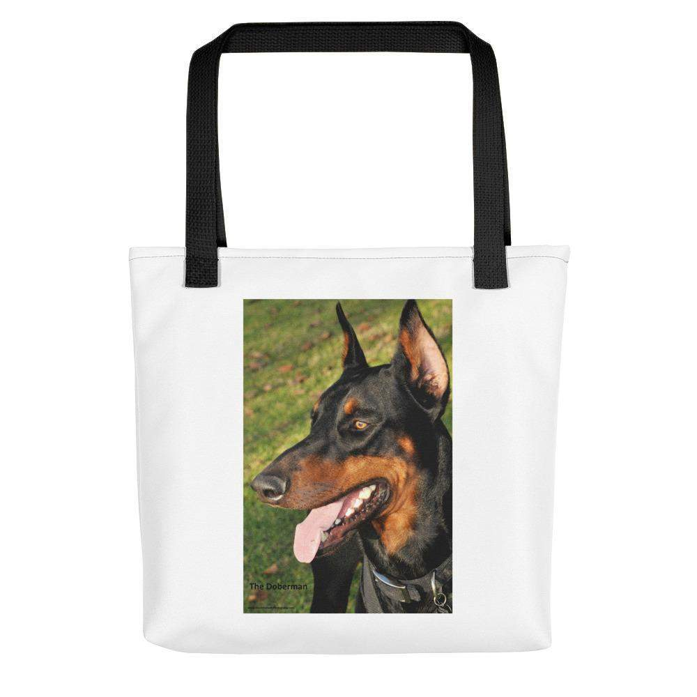 Doberman DOG Tote bag ** FREE Shipping! Totes, Purses, Bags- HRH Studio Boutique