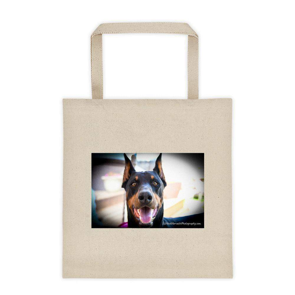 Doberman Tote bag - Traveler-Totes, Purses, Bags-HRH Studio Boutique