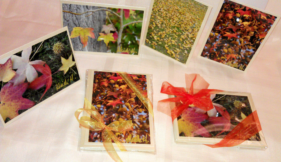 Fall Cards Gift Set Greeting Cards/Prints- HRH Studio Boutique