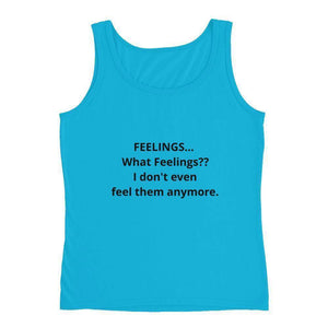 FEELINGS - Ladies' Tank - Colors to choose from! * FREE Shipping!-Tank Tops-HRH Studio Boutique