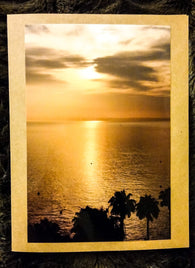 Gold Sunrise Card-Greeting Cards/Prints-HRH Studio Boutique