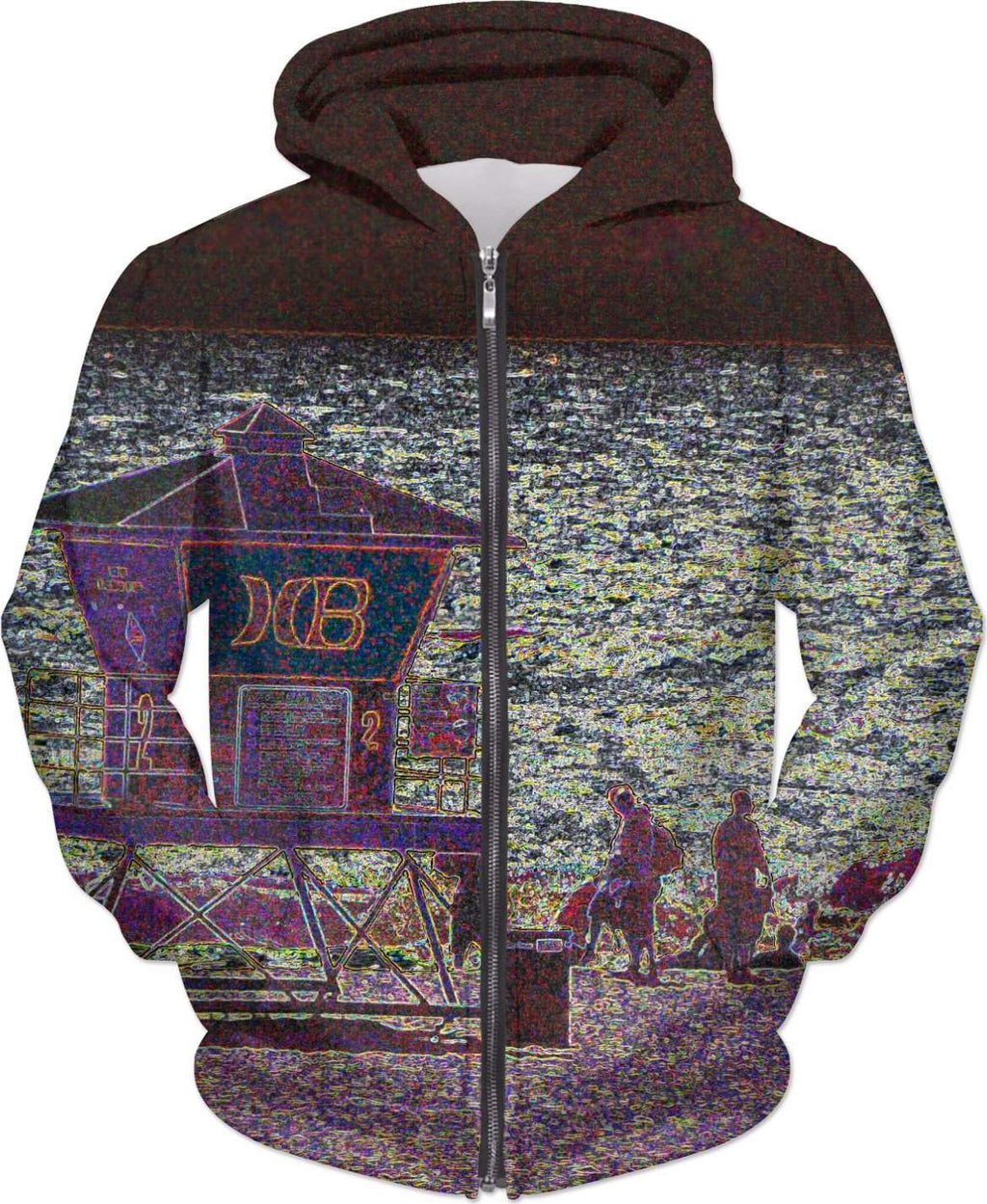 HB Custom Hoodie-Hoodies-HRH Studio Boutique